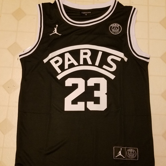 fab2672251d6 Jordan PSG Paris Saint Germain Basketball Jersey